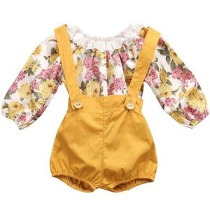 Other - NEW🎀 Floral Set Baby